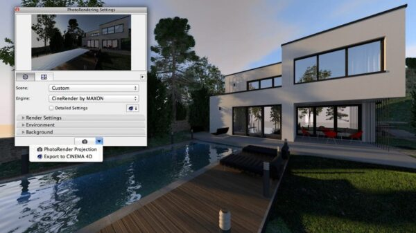 ArchiCAD 18 CinerRender 02